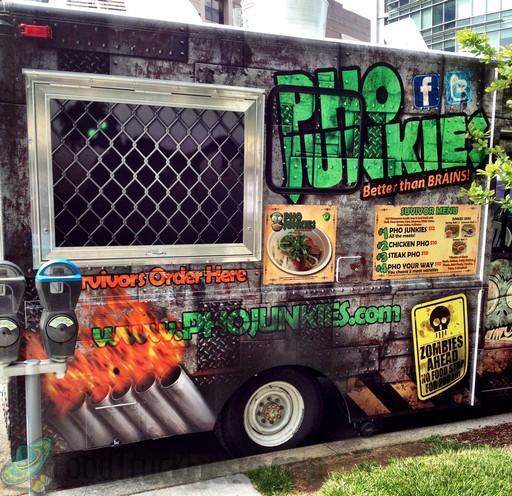 Food truck wrap