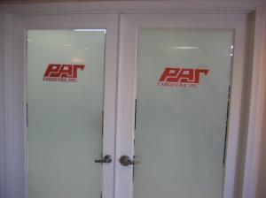 vinyl door signs