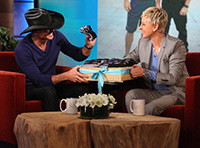 Top Class SIgns and Printing Wearables Have Star Power Ellen DeGeneres Tim McGraw