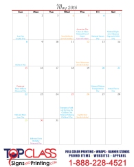 Top-Class-Signs-and-Printing-Marketing-Schedule-May-2016
